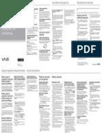 Guía de Recuperación de Sistemas SONY VAIO Svl Svs Sve Svt Series Qrg Es