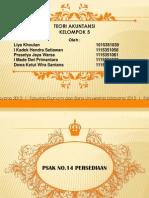 Teori Akuntansi PSAK 14 Persediaan Klp 5