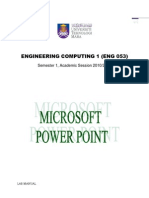 Microsoft Power Point Exercises(2)