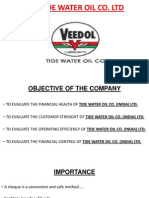 Tide Water Oil Co LtdPowerPoint Presentation