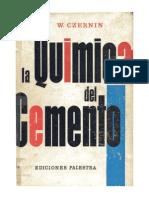 La Quimica Del Cemento (Czernin)