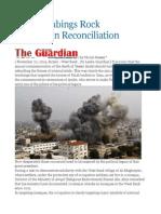 Gaza Bombings Rock Palestinian Reconciliation