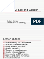 Lesson 10 - Sex and Gender.ppt