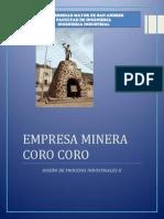 Empresa Minera Coro Coro