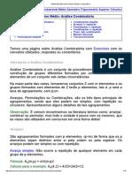Matematica Essencial_ Medio_ Analise Combinatoria