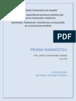 prueba diagnstica