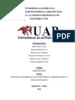 CIUDADES SUDAMERICANAS CON DESARROLLO ARQUITECTONICO Y ESPACIOS PUBLICOS.pdf