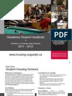 Guelph Res Student Handbook