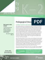 cbs pedagogical