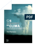 Tim Flannery - Os Senhores Do Clima