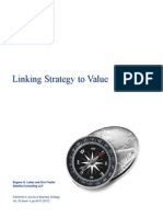 20131108 Linking Strategy to Value