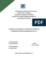 Pasantias Facturacion y Control de Clientes