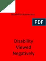 disability awareness--powerpoint
