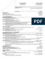 dhn 301 assignment 3 resume
