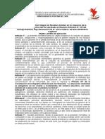 Normativa de Gestion Integral de Residuos