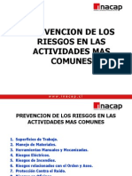 Prevencion en Actividades Comunes