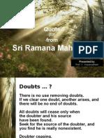 20100105 - Quote From Sri Ramana Maharshi - 02 -