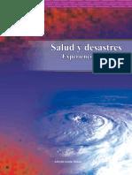 Libro Salud Desastre