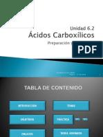 Unidad 6.2Reacciones Ácidos Carboxílicos
