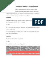 Definición de Subespacio Vectorial y Sus Propiedades