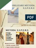 Metoda de Sensibilizare ESPERE-Jaques Salome