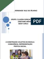 Universidade Vale Do Acaraú Claudia Certo