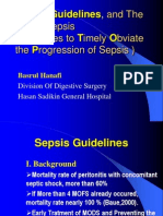 Sepsis Guidelins and STOP SEPSIS