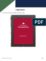 Readability Su iPad