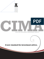 CIMA Program Brochure