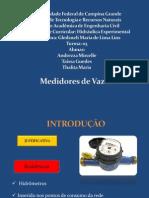 Medidor de Vazao