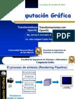 OpenGL_Transformaciones Computacion Grafica 2014-I