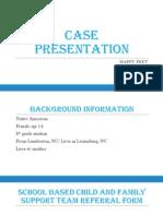 case presentation prjt