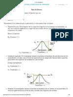 Ejercicios Estadística II