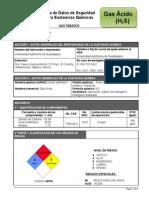 Gas Ácido (H2S)