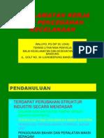 Keselamatan Kerja Dan Pencegahan Kecelakaan