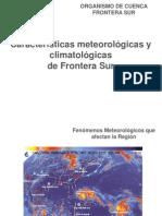Caracterizacion Hidrologica y Meteorologica OCFS