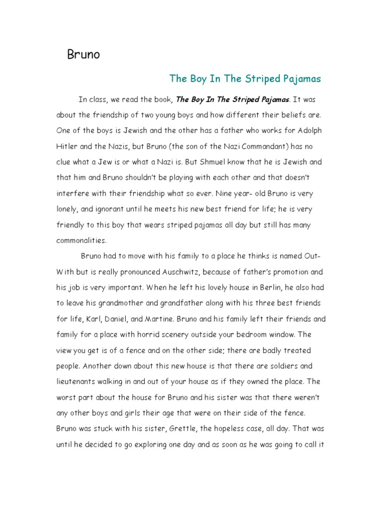 boy essay