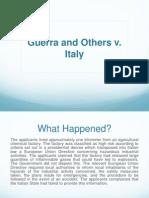 Guerra v. Italy