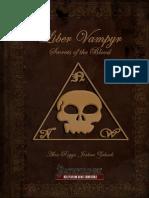 Liber Vampyr - Secrets of the Blood