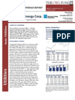 Initiating Coverage Wisconsin Energy Corp. (WEC)