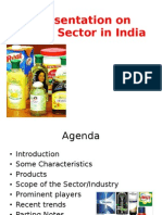 Presentation on FMCG Sector in India