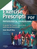 Exercise Prescription - eBook