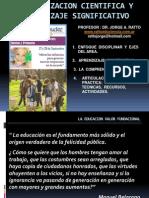 ALFABETIZACION CIENTIFICA - DR JORGE RATTO -.ppt