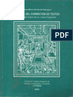 ZORRILLA, Alicia - Manual Del Corrector de Textos