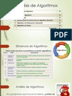 Análisis de Algoritmos 001