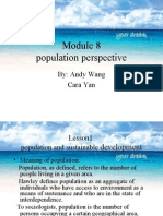 SOCIETY - Population Perspective