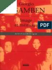 AGAMBEN Giorgio - Image Et Mémoire