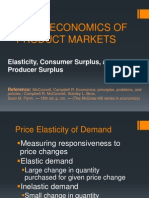 Microeconomics of Product Markets