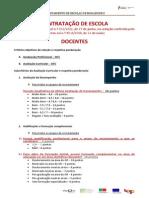 Contratacao Escola Docentes Criterios Subcriterios 2014 2015