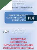 Procedimientos Constructivos de Una Edificacion